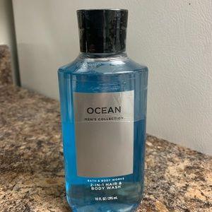 Bath & Body Works - Ocean Hair & Body Wash